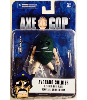 Axe Cop: 4 inch Avocado...