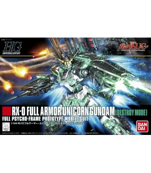 Gundam: 1/144 HG RX-0 Full...