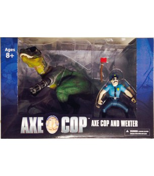 Axe Cop: Wexter With Axe...