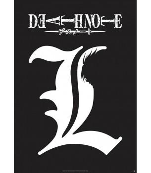 Death Note: L Logo Poster