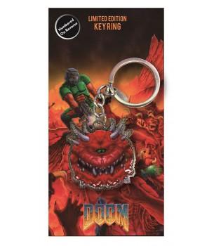 Doom: Cacodemon Metal Keychain