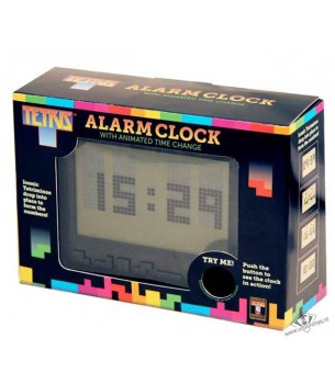 Tetris: Digital Alarm Clock