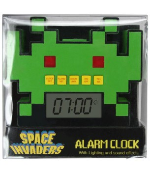 Space Invaders: Alarm Clock