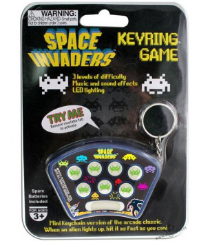 Space Invaders: Keychain Game