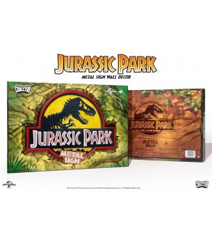 Jurassic Park: Logo Relief...