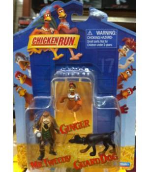 Chicken Run: PVC 3-Pack