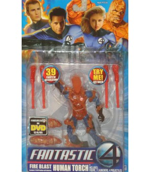 Fantastic Four Movie: Fire...