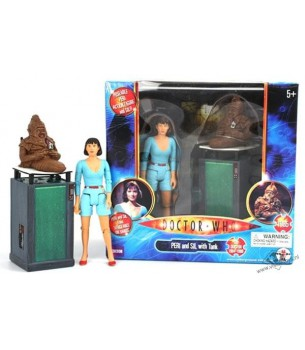 Doctor Who: Peri & Sil with...