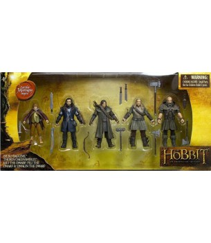 The Hobbit:  4 inch Bilbo,...
