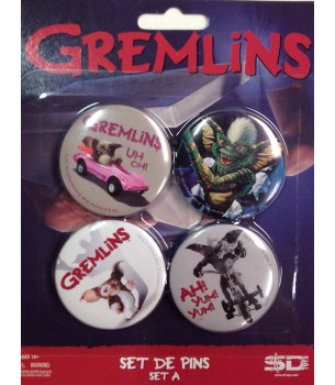 Gremlins: Button Pin Set A