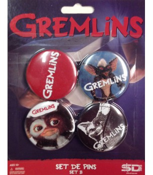 Gremlins: Button Pin Set B