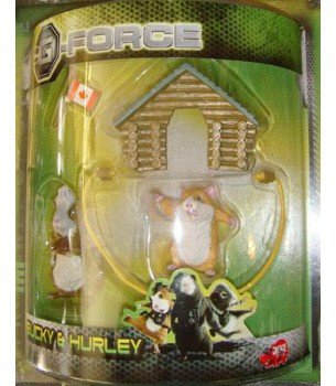 G-FORCE: Bucky & Hurley...