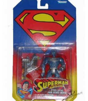 Superman: Steel alias John...