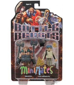 Battle Beasts: Minimates:...
