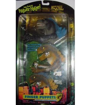 Godzilla 1998: Finger Puppets