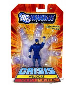 DC Universe: Wildcat (Blue)...