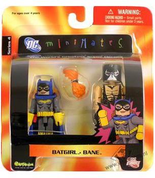 DC Minimates: Batgirl & Bane
