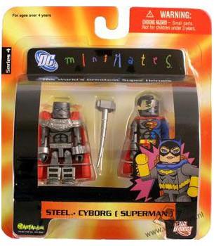 DC Minimates: Steel &...