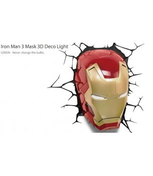Iron Man: 3D DECO Lamp