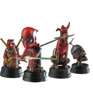 Deadpool Corps Bust boxed set