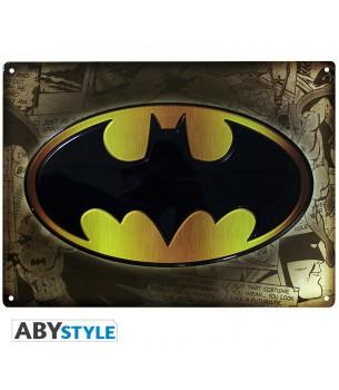 Batman: Logo Metal Tin Sign