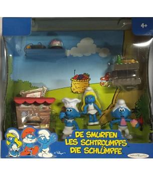 Smurfen: Bakkerij Action...