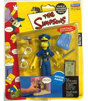 The Simpsons: Officer Marge...