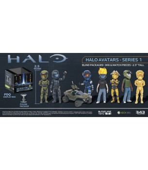 Halo: XBOX Avatar Blind Box...