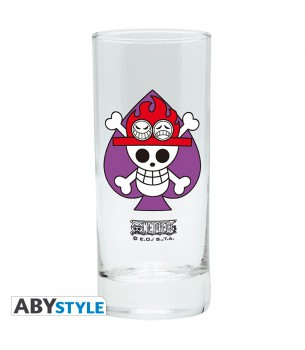 One Piece: ACE Drinking Glass