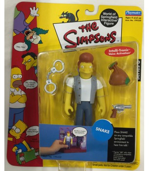 The Simpsons: Snake Action...