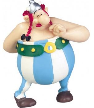 Asterix: Obelix holding...