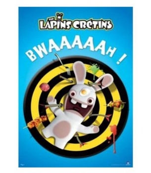 Rabbids: BWAAAAAH! Poster